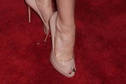 Stephanie March Peep Toe Pumps
