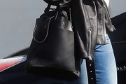 Mandy Moore Leather Tote