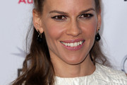 Hilary Swank Half Up Half Down