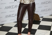 Natalia Woerner Leather Pants