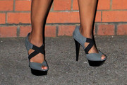 Konnie Huq Platform Sandals