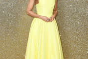 Gugu Mbatha-Raw Strapless Dress