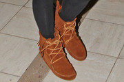 Karrueche Tran Lace Up Boots