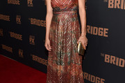 Annabeth Gish Print Dress