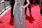 Elle Fanning One Shoulder Dress
