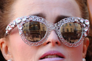 Helena Bonham Carter Cateye Sunglasses