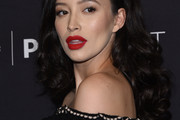 Christian Serratos Long Curls