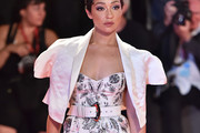 Ruth Negga  Cropped Jacket