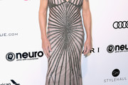 Caitlyn Jenner Beaded Dress