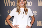 Jessica Hart Crop Top
