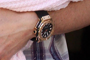 Fernando Torres Gold Quartz Watch