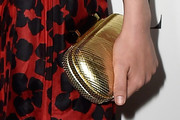 Gillian Jacobs Metallic Clutch