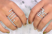 Isabela Moner Stackable Rings