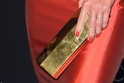 Jaime Pressly Metallic Clutch