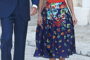 Queen Letizia of Spain Full Skirt