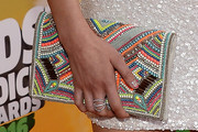 Kira Kosarin Beaded Clutch