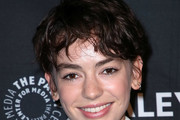 Brigette Lundy-Paine Messy Cut