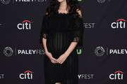 Christian Serratos Maternity Dress