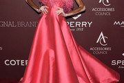 Winnie Harlow Strapless Dress