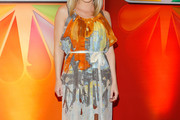 Kelli Giddish Print Dress