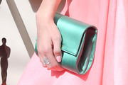 Laura Marano Satin Clutch