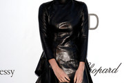 Sky Ferreira Leather Dress