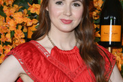 Karen Gillan Half Up Half Down