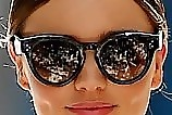 Miranda Kerr Oversized Sunglasses