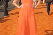 Alyson Stoner Strapless Dress