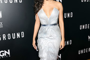Jurnee Smollett-Bell Strapless Dress