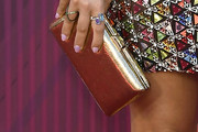 Maren Morris Metallic Clutch