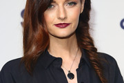 Lydia Hearst Long Partially Braided