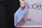 Drew Barrymore Leather Clutch