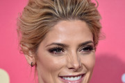 Ashley Greene Loose Bun