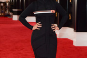 Alicia Keys Sweater Dress
