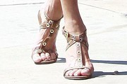 Janice Dickinson Strappy Sandals