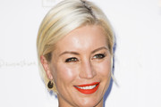 Denise van Outen Side Parted Straight Cut