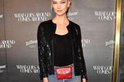 Karlie Kloss Sequined Jacket