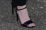 Bonnie Wright Evening Sandals