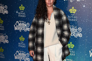 Camila Alves Printed Coat