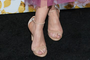 Lacey Chabert Strappy Sandals