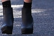 Hetti Bywater Wedge Boots