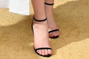 Sadie Sink Strappy Sandals
