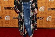 Katie Lowes Ripped Jeans