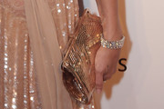 Kate Moss Metallic Clutch