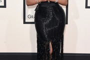 Nicki Minaj Beaded Dress