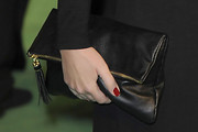 Lucy Pinder Leather Clutch