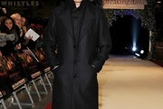 Jamie Campbell Bower Wool Coat