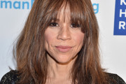 Rosie Perez Medium Straight Cut with Bangs