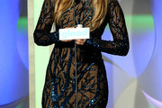 Jennifer Lopez Beaded Dress